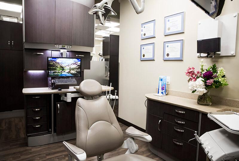 Medium Shot of Dental Chair