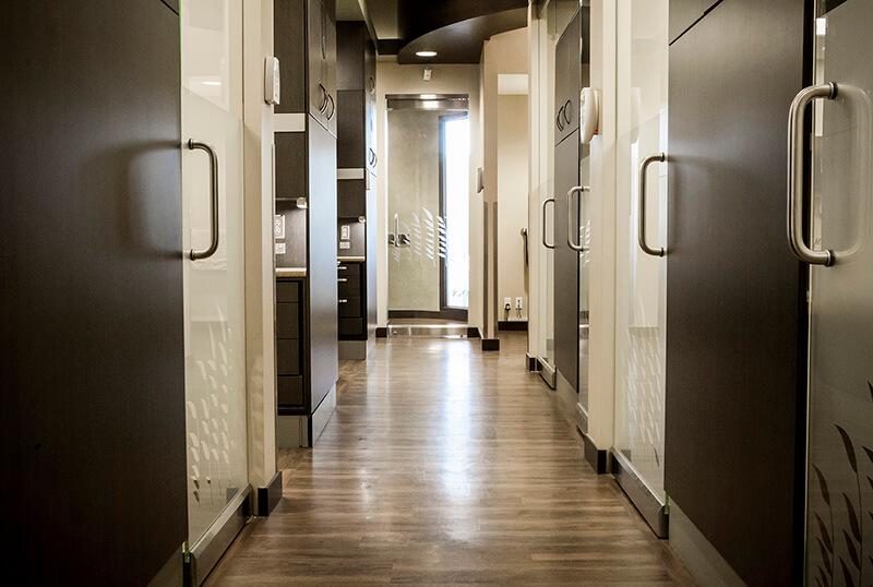 Medium Shot of Hallway